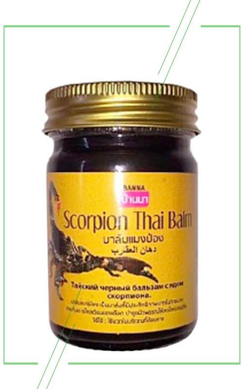 Banna черный бальзам с ядом скорпиона_result