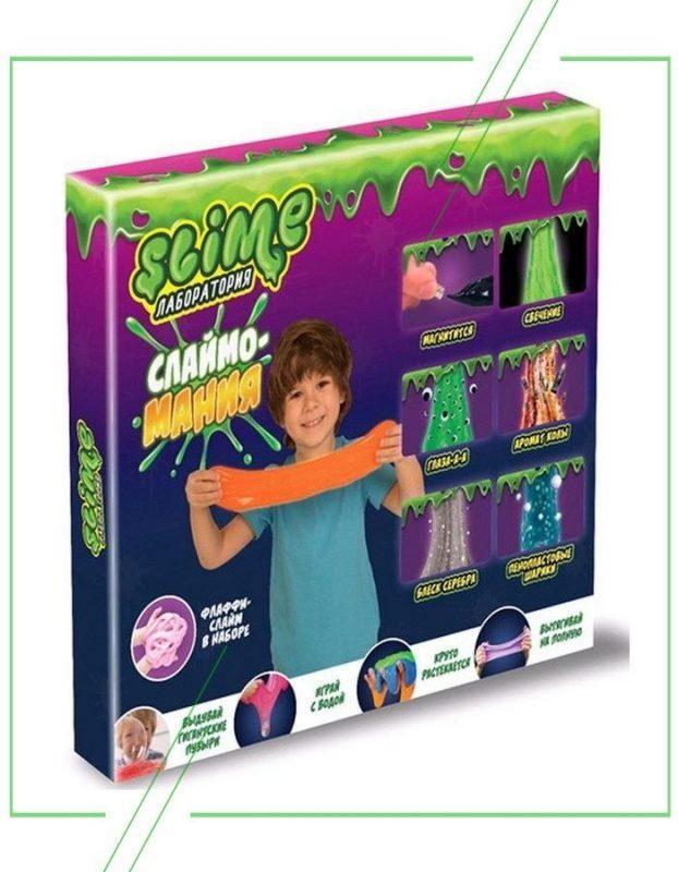 Большой набор для мальчиков Slime Лаборатория, 300 гр. Essa Toys_result