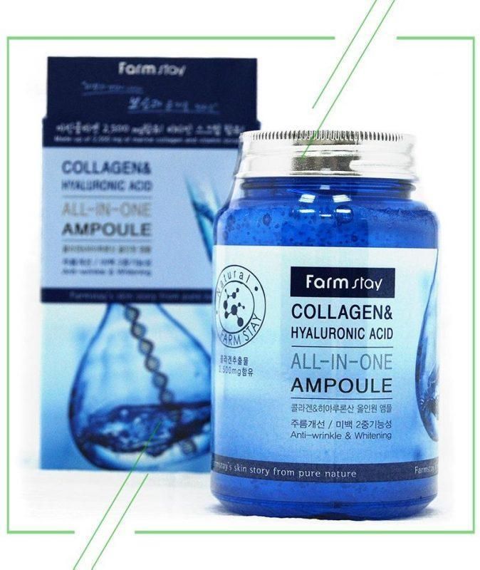 Farmstay All-In-One Collagen & Hyaluronic Acid Ampoule_result