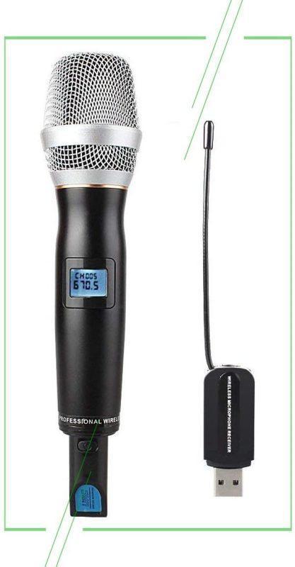 ТОП-7 лучших беспроводных микрофонов для караоке