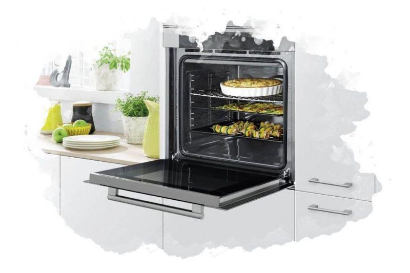 электрическая духовка для кухни