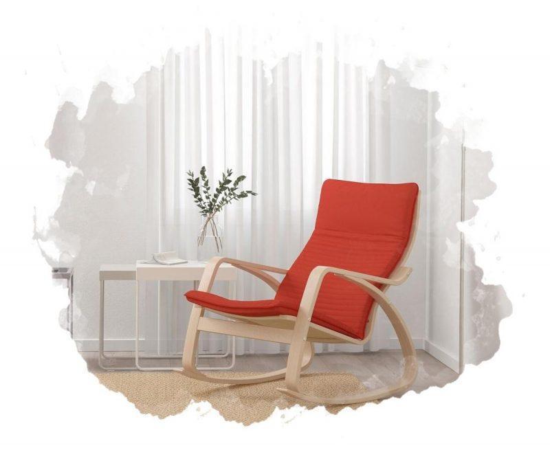кресло качалка для жома