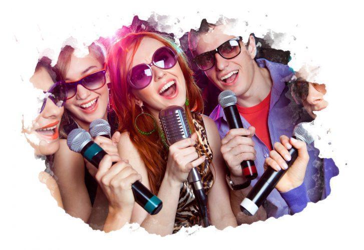 беспроводные микрофоны для караоке
