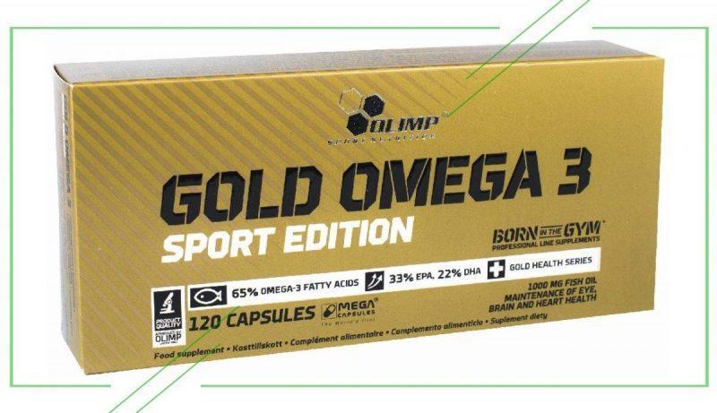 Olimp Gold Omega 3 Sport Edition_result