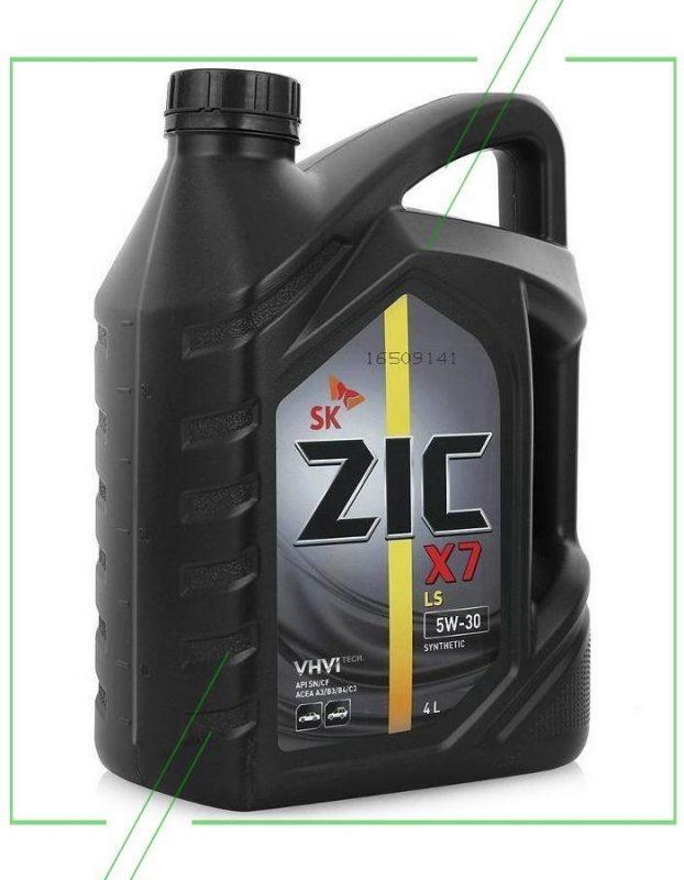 ZIC X7 LS 5W-30 4 л_result