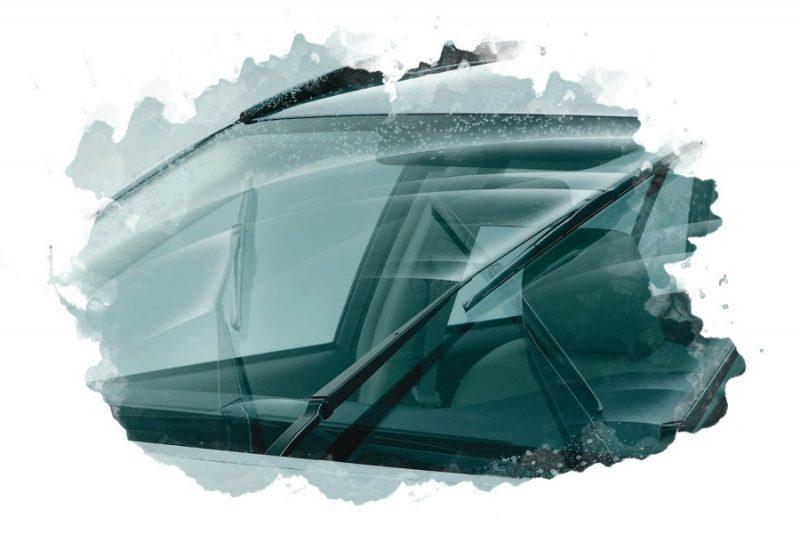 стеклоочиститель на автомобиля