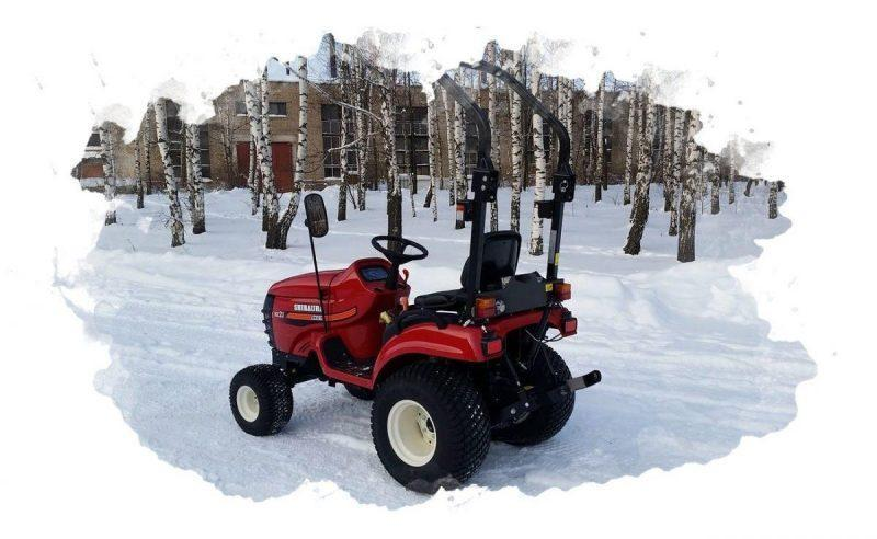 мини-трактор для дома