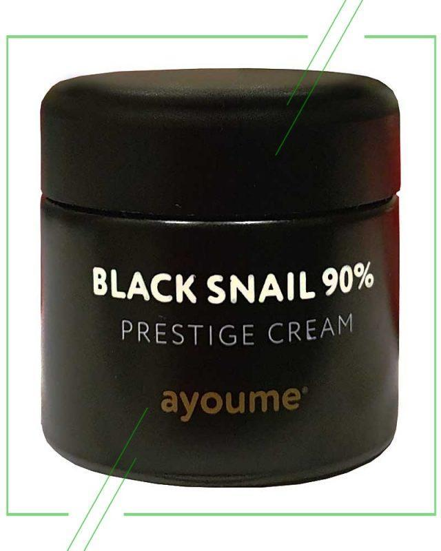 Ayoume Black Snail 90% Prestige Cream_result