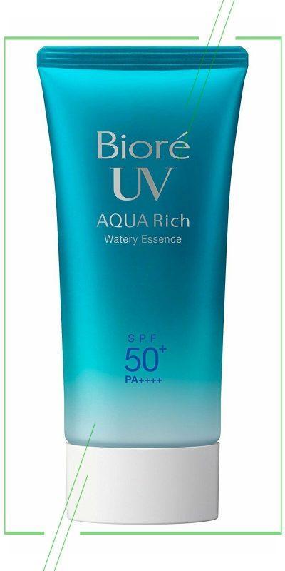 Biore UV Aqua Rich SPF 50_result