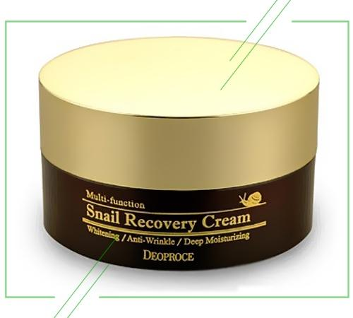 Deoproce Snail Recovery Cream_result