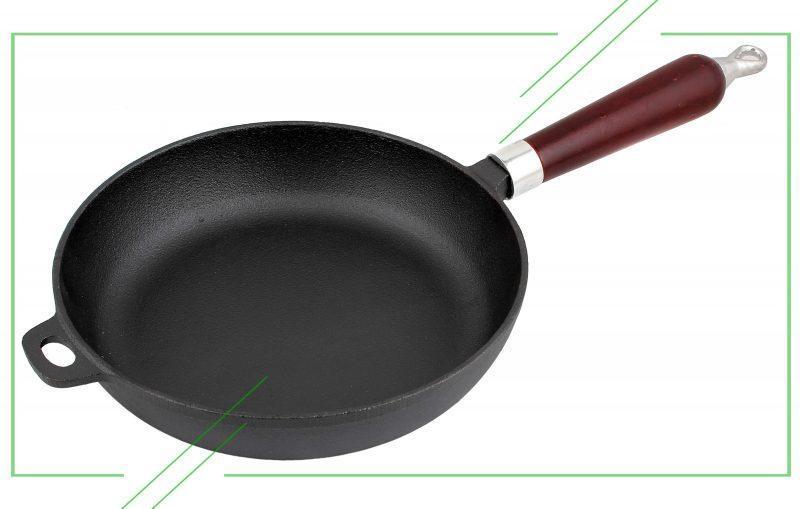 ТОП-7 лучших чугунных сковород - Рейтинг, отзывы
