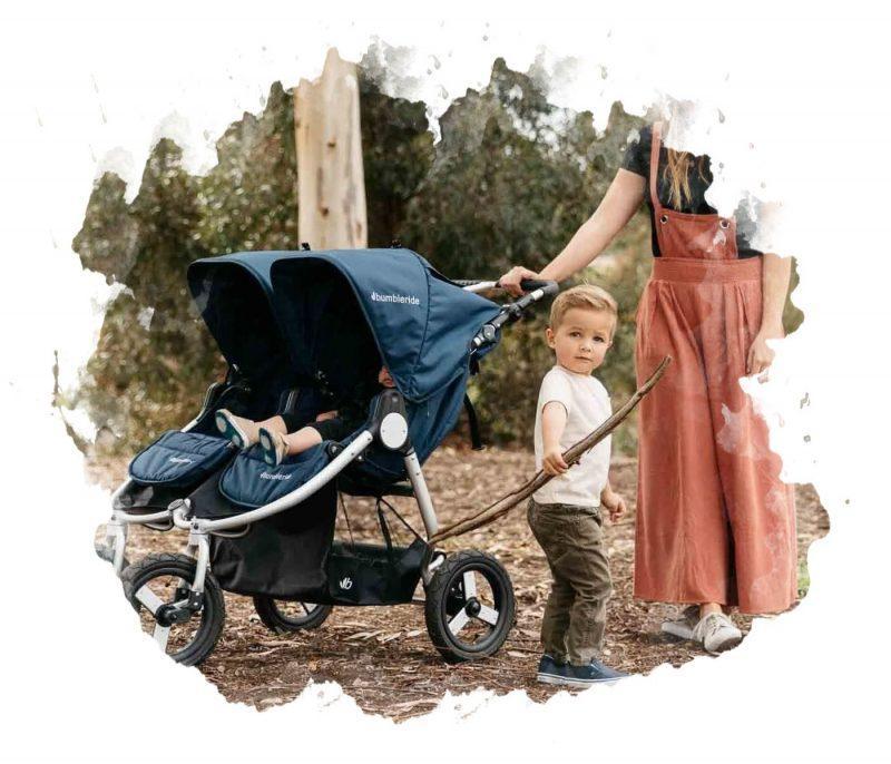 коляска для 2 детей