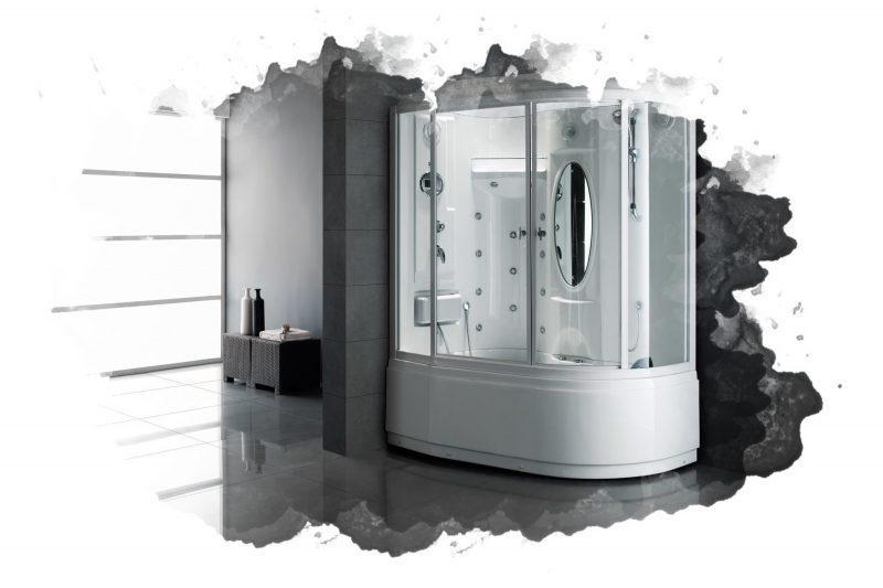 душевая кабина для ванной