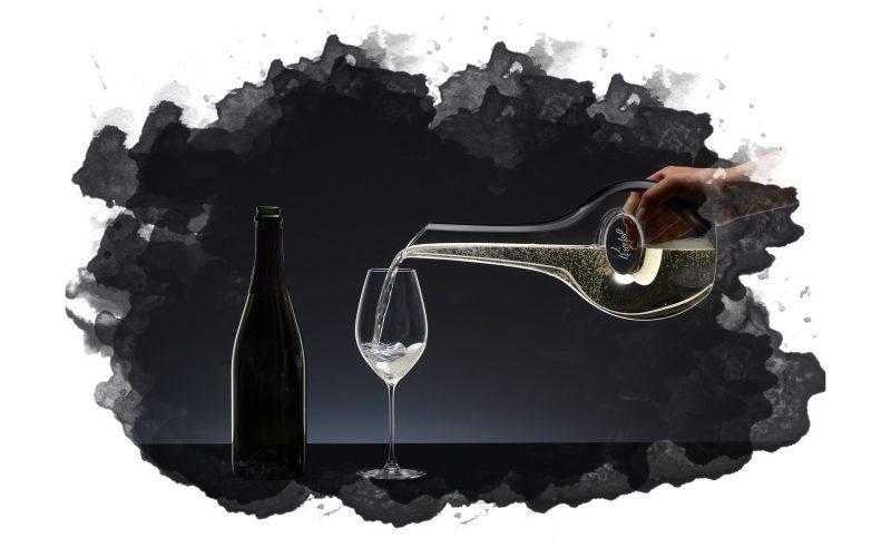 использование декантера для вина