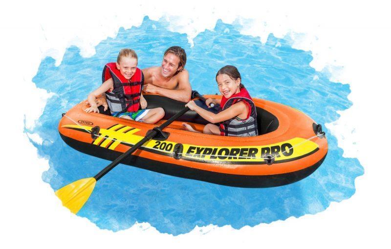 надувная лодка для семьи