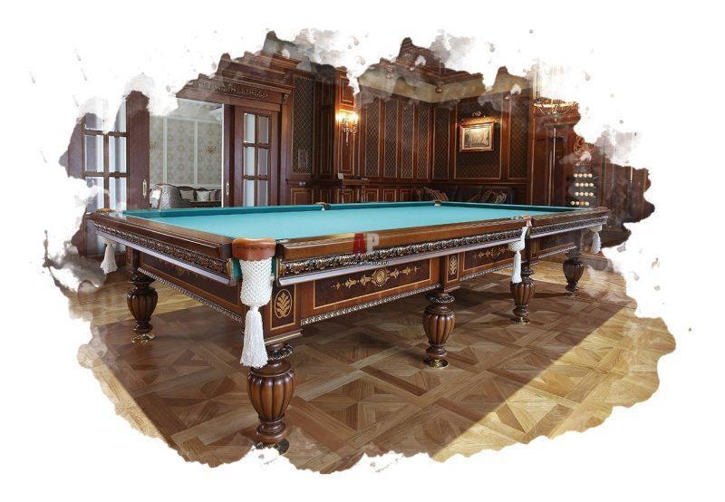 ТОП-7 лучших бильярдных столов: рейтинг, отзывы