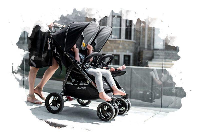 использование двойной коляски