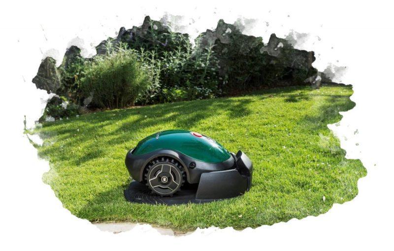 роботов-газонокосилка