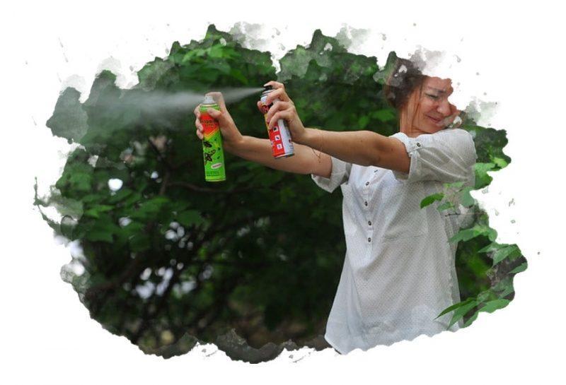 как избавится от комаров