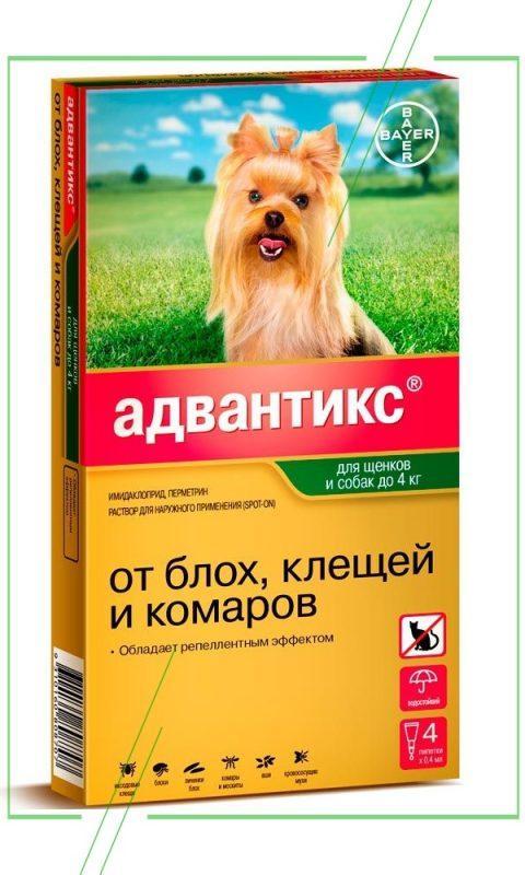Адвантикс (Bayer) для собак и щенков_result