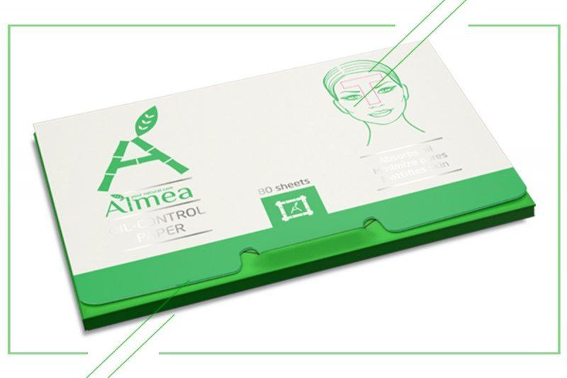 Almea Oil-control paper_result