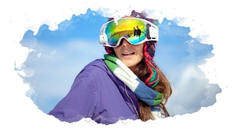 лыжник в маске