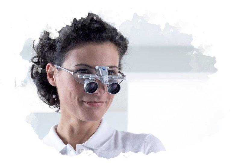 как носить очки-лупы
