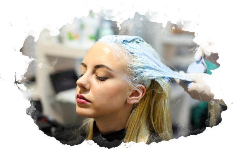 использование краски для волос