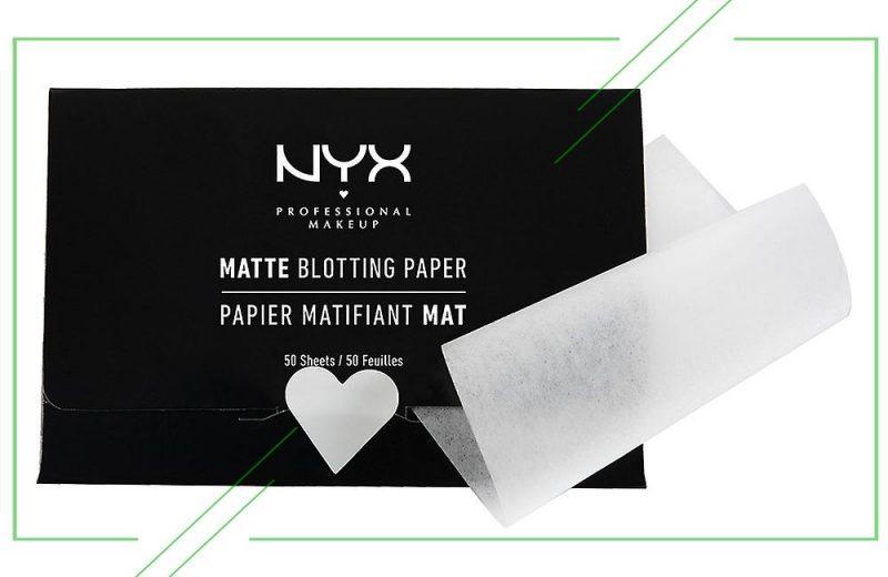 NYX Professional Makeup Matte Blotting Paper_result