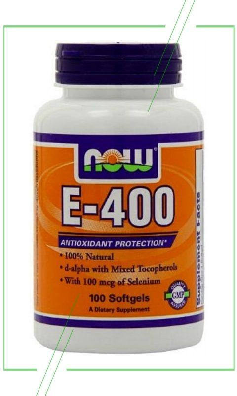 NOW Vitamin E-400 IU_result