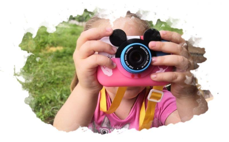 GSMIN Fun Camera Memory с играми: обзор детского цифрового фотоаппарата